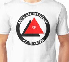 Antifaschistische Illuminaten Unisex T-Shirt
