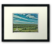 Upstate PA Framed Print