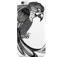 Patterned Parrot iPhone Case/Skin