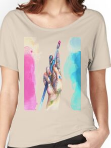 Painter's Hand Women's Relaxed Fit T-Shirt