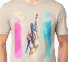 Painter's Hand Unisex T-Shirt