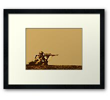 Army Soldier  Framed Print