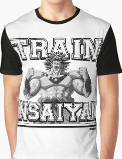 DBZ - Train Insaiyan with Broly Graphic T-Shirt