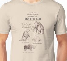 Beasts of the Ice Age Unisex T-Shirt