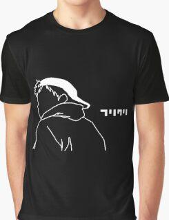 FLCL Naota cap Graphic T-Shirt