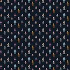 Robot Pattern by NeleVdM