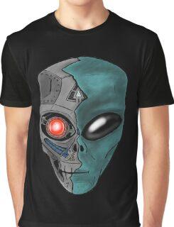 Cyborg Alien  Graphic T-Shirt