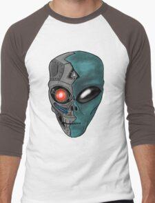 Cyborg Alien  Men's Baseball ¾ T-Shirt