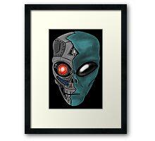 Cyborg Alien  Framed Print