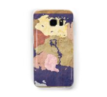 Elders scrolls simple map Samsung Galaxy Case/Skin