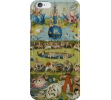Hieronymus Bosch - The Garden Of Earthly Delights  iPhone Case/Skin