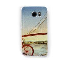 Bicycle In San Francisco Samsung Galaxy Case/Skin