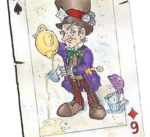 The Mad Hatter by abaldinazzo