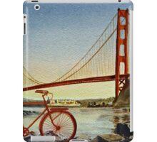 Bicycle In San Francisco iPad Case/Skin