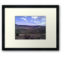 West Texas View Framed Print