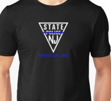 New Jersey State Police - Thin Blue Line Unisex T-Shirt