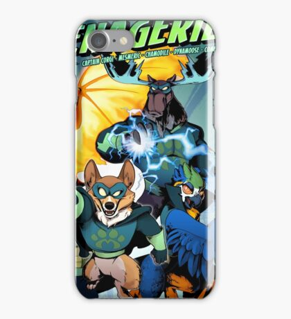 The Mighty Menagerie iPhone Case/Skin