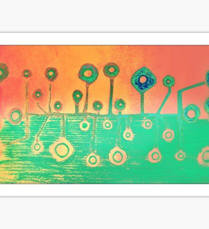 Colour Abstract Sticker