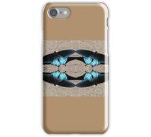 Iridescent Blue Dance iPhone Case/Skin