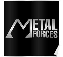 Silver Metal Forces Poster