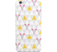 Mouse and cheese iPhone Case/Skin