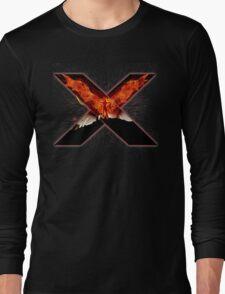 X Men - Jean - Red Long Sleeve T-Shirt