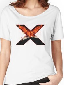 X Men - Jean - Red Women's Relaxed Fit T-Shirt