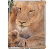 Lioness and cub iPad Case/Skin