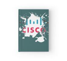 Cisco Logo White Glow Hardcover Journal