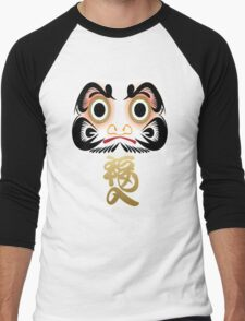 Good Luck Daruma Men's Baseball ¾ T-Shirt
