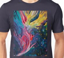 Bird Flower Unisex T-Shirt
