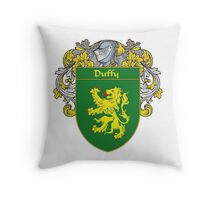 Duffy Coat of Arms/Family Crest Throw Pillow