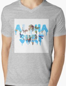 Aloha Surf Mens V-Neck T-Shirt