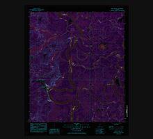 USGS TOPO Map Alabama AL Bilbo Island 331455 1983 24000 Inverted Unisex T-Shirt