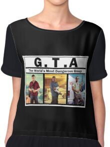 GTA (NWA) Straight Outta Compton Chiffon Top