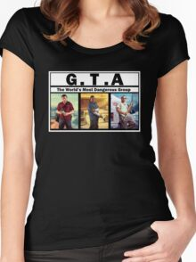 GTA (NWA) Straight Outta Compton Women's Fitted Scoop T-Shirt