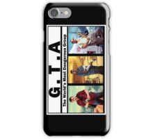 GTA (NWA) Straight Outta Compton iPhone Case/Skin