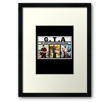 GTA (NWA) Straight Outta Compton Framed Print