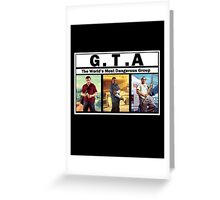 GTA (NWA) Straight Outta Compton Greeting Card