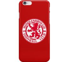 MIDDLESBROUGH FOOTBALL CLUB OLD LOGO CREST BORO iPhone Case/Skin