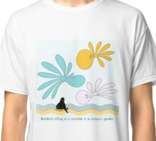 Blackbird sitting on a cornflake... Classic T-Shirt