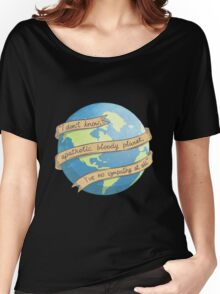 APATHETIC BLOODY PLANET Women's Relaxed Fit T-Shirt