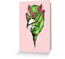 Candy Bat Greeting Card
