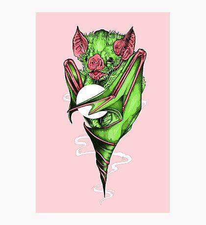 Candy Bat Photographic Print