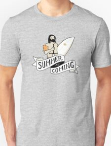 Summer Is Coming - Surfing Board T-Shirt
