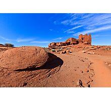Wupatki Pueblo Ruins Photographic Print
