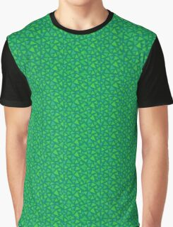 Grass Pattern Graphic T-Shirt