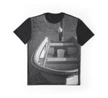 The Boat - BW Graphic T-Shirt