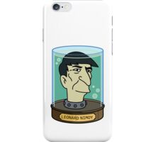 futurama leonard nimoy head sticker iPhone Case/Skin