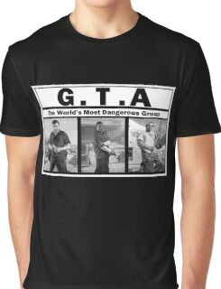 GTA (NWA) Straight Outta Compton Graphic T-Shirt